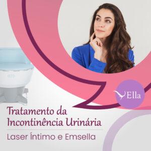 Read more about the article Incontinência urinária: Laser íntimo e Emsella